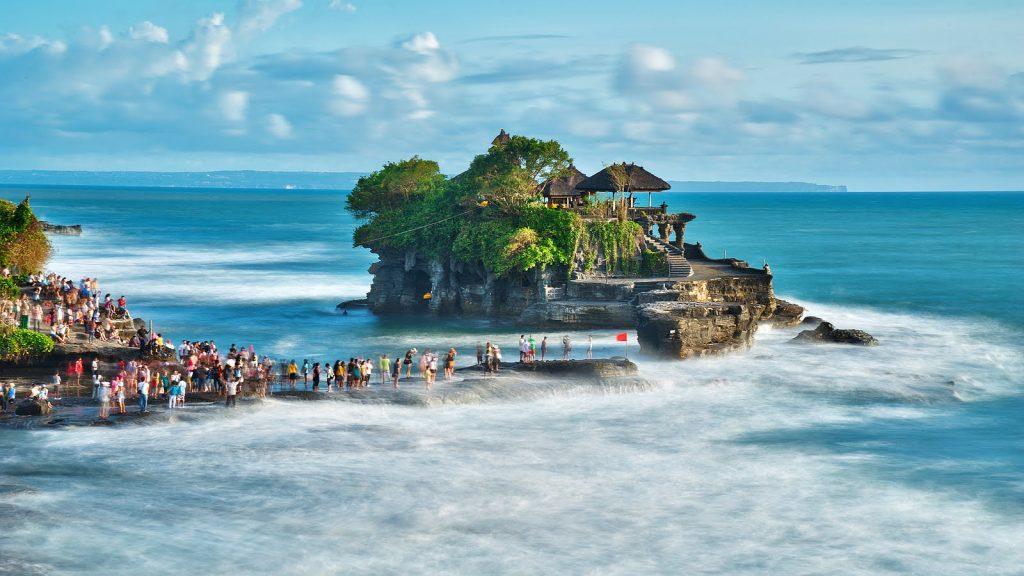Paisajes de Java y Bali