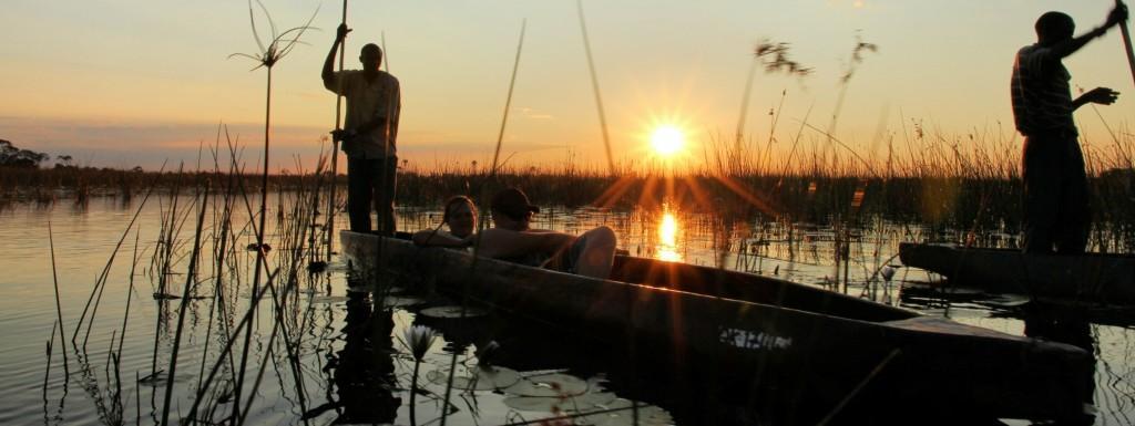 El Delta del Okavango, el río Chobe y el Zambeze finalizando en las Cataratas Victoria