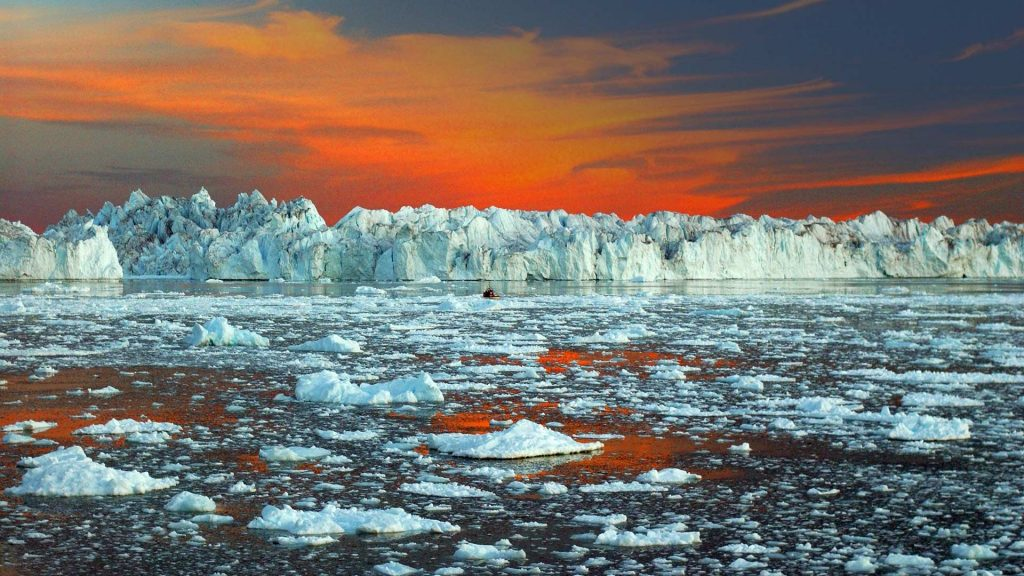 Asómbrate con sus enormes icebergs